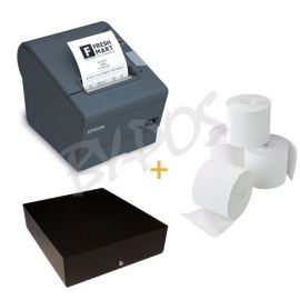 Bundel Bonprinter + Kassalade + Bonpapier - Scanner MAC