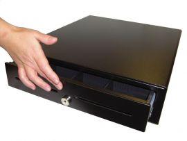 BYPOS HS36A-B One Touch Standard - ** handmatig voorkant touch ** metalen kassalade - 8C/4B -  zwart